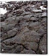 Lava Rock Island Acrylic Print