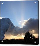 Lava Sunset Acrylic Print