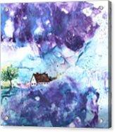 Lavendar Fields Acrylic Print
