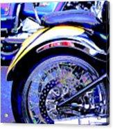 Lavender Run Acrylic Print