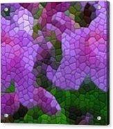 Lavender Azaleas Acrylic Print