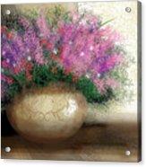 Lavender Bouquet Acrylic Print