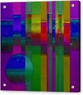 lavender Doors Acrylic Print