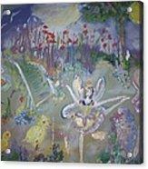 Lavender Fairies Acrylic Print