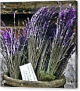 Lavender For Sale Acrylic Print