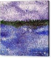 Lavender Land Acrylic Print