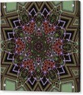 Lavender Mandala Acrylic Print