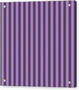 Lavender Purple Striped Pattern Design Acrylic Print