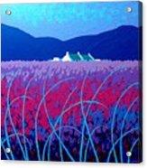 Lavender Scape Acrylic Print