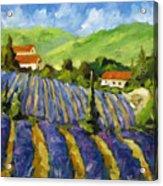 Lavender Scene Acrylic Print