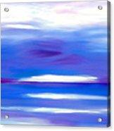 Lavender Water Acrylic Print