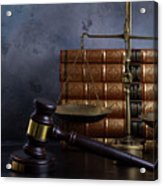 Law And Justice II Acrylic Print
