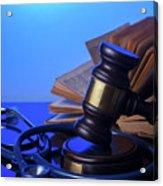 Medical Law Acrylic Print