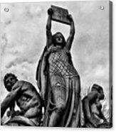 Law Prosperity And Power  Acrylic Print