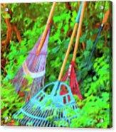 Lawn Tools Acrylic Print