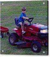 Lawnmower Boy Acrylic Print