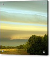 Layered Clouds Acrylic Print