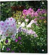 Layered Florals Acrylic Print