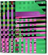 Layered Worlds Acrylic Print