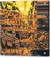 Layers Of Civilizations Acrylic Print