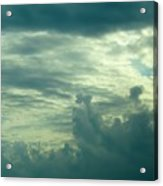 Layers Of Clouds Acrylic Print