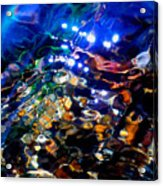 Layers Of Color And Light Acrylic Print by Terril Heilman