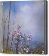 Layers Of Wildflowers Acrylic Print