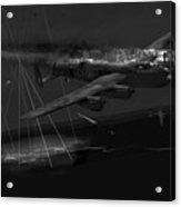 Layne's Lancaster Black And White Version Acrylic Print