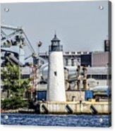 Lazaretto Point Lighthouse Acrylic Print