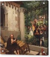 Lazarus And The Rich Man 1865 Acrylic Print