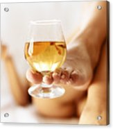 Lazy Afternoon With Cognac Acrylic Print