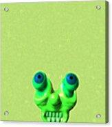 Lazy Alien Acrylic Print