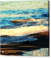 Lazy Waves Acrylic Print