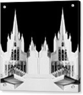 Lds - Twin Towers 2 Acrylic Print