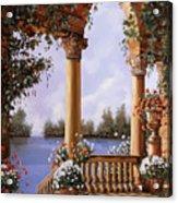 Le Arcate Chiuse Sul Lago Acrylic Print