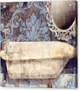 Le Bain Paris Blue Acrylic Print