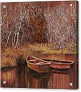 Le Barche Sullo Stagno Acrylic Print