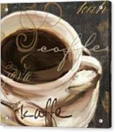 Le Cafe Dark Acrylic Print