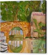 Le Canal Du Midi Acrylic Print