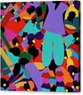 Le Carnaval Acrylic Print