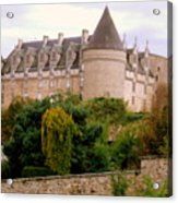Le Chateau De Rochechouart Acrylic Print
