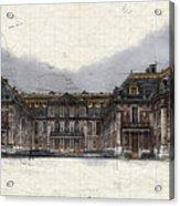 Le Chateau De Versailles Acrylic Print