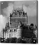 Le Chateau Frontenac - Quebec City Acrylic Print