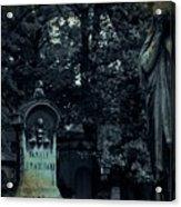 Le Cimetiere Du Pere-lachaise Acrylic Print