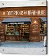 Le Comptoir De Mathilde Acrylic Print