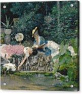 Le Heron Familier Acrylic Print