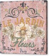 Le Jardin 1 Acrylic Print