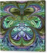 Le Jardin Secret Acrylic Print