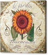 Le Jardin Tournesols  Acrylic Print