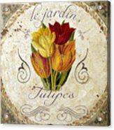 Le Jardin Tulipes Acrylic Print